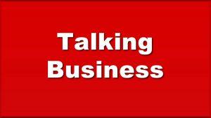 talking business